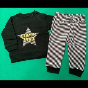 """NWOT🔥 Baby """"Super Star"""" Outfit"""